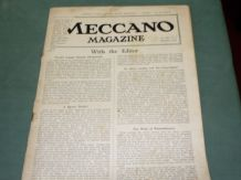 MECCANO MAGAZINE 1928 September Vol XIII No.9
